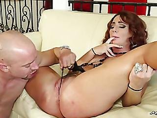 Milf Always Knows Best, And Hairy Pussied Savannah Fox Knows How To Milk