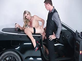 Pierce Shows No Mercy To Sexy Tgirl Aubreys Ass