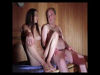 Sex With Shy Babe In Sauna