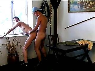 His Ass Is Hungry For Big Cock