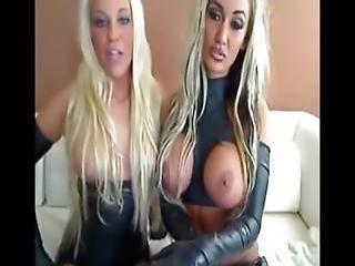 Two Stunning Blonde German Webcam Girls