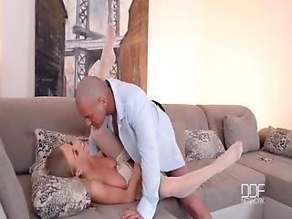 Blonde Beauty Lolly Gartner Fucks A Cop