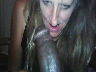 Grosse Bite Black, Black, Pipe, Deepthroat, Interracial, Milf