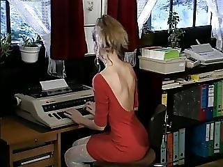 Debbie Hot Office Fuck