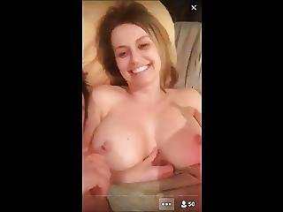 Awesome Us-couple In A Privat Show On Periscope Part 3