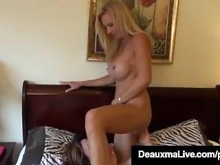 Texas Cougar Deauxma As A Census Taker Fucks Brooke Tyler!