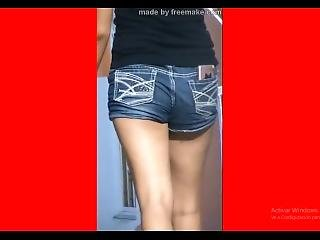Shorts Daughter Whore Slow-motion