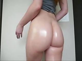 Beautiful White Ass Flexing And Bouncing On Webcam - Cam-girlhotties.com
