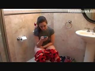 Girl Dumping Very Laud