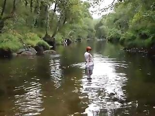 River Bathing In Rianxo