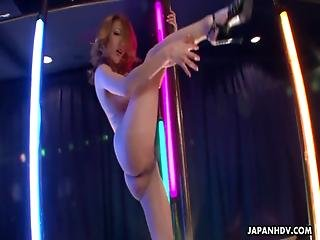 Asian, Ass, Boob, Fucking, Hardcore, Japanese, Moaning, Oriental, Pole, Reality, Stripper, Wet, Wild