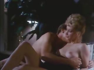 Rachel Ashley, Eve Sternberg, Joanna Storm In Vintage Porn Video