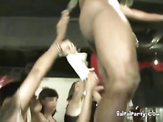 Every Woman In The Club Sucking Big Hard Dick