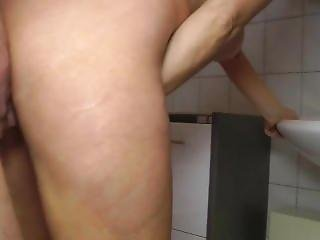 Pissing Fun With Blonde Mature