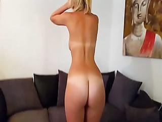 Hot Brit Isla White Fucks Dildo And Performs Jerk Off Instruction And Cei