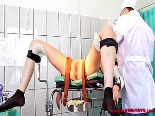 Full Orgasm On Gyno Chair