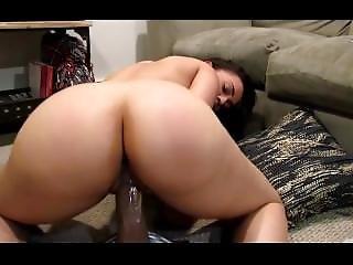 Angela Rides Big Black Cock - Girlpornvideos.com