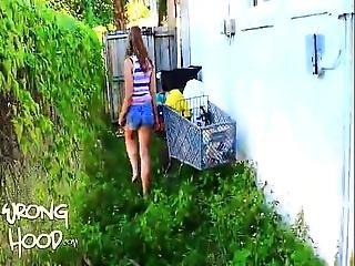 Hannah Wrong Hood Social Full Video -half 2 Of 2