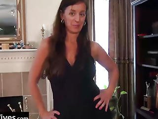 Usawives Lusty Aged With 2 Sex Toys In Her Taut Cum-hole