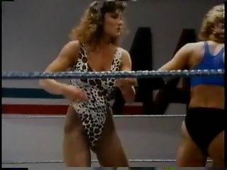 Old School Bikini Ring Wrestling