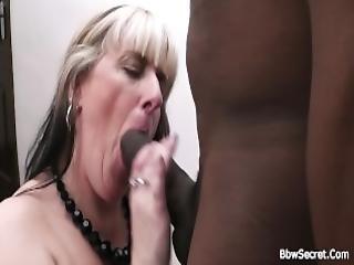 Interracial mature raw fuck