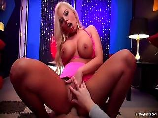 Stripper Britney Amber Gets Fucked