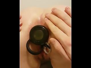 amatør, anal, anal perle, kunst, pegler, numse, buttplug, hardcore, rå, sex