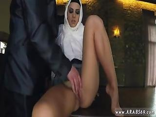 Gorgeous Arab Casting Hungry Woman Gets Food And Fuck