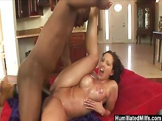 Humiliatedmilfs   Oiled Up Kelly Ready For A Big Black Cock.