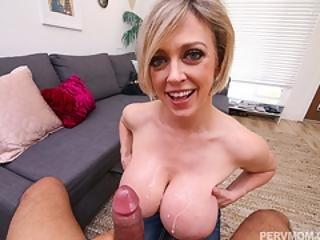 Busty Mom Dee Williams Hot Pov Titty Fuck