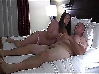 Amateur Mature Couple Film Themselves In A Hotelroom