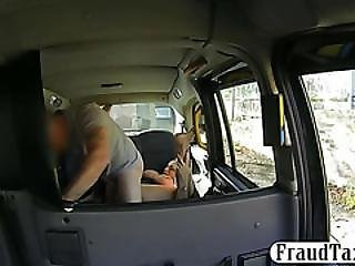 Busty Amateur Passenger Sucks And Screwed By Fraud Driver