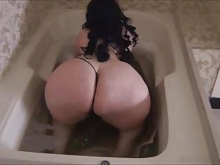 Bbw, Butt, Massage, Shower, Tub