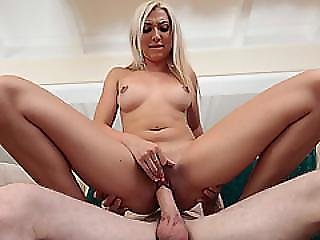 Jessica Shows Off Her Cock Sucking And Riding Sperkys