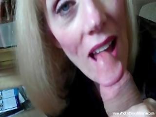 amateur, blonde, pipe, crème, serrée, sperme, mamie, maison, femme au foyer, mariée, mature, milf, vieux, pov, sexy, échangistes, femme