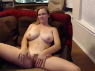 Lonely Milf With Huge Breasts Plays On Cam