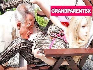 Senile Grandpa Fucking A Sex Doll