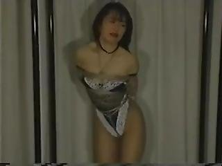 Japanese Girl In Shibari Struggling #2