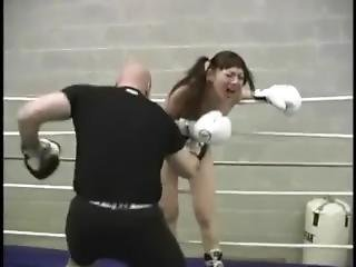 Suzie The Asian Mixed Belly Boxing