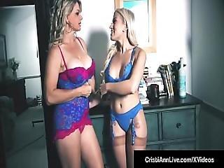 Hot Vna Girls Cristi Ann And Vicky Vette Hitachi Their Pussies