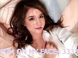 Pokimane Joi + Countdown + Cum On Face