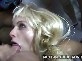 Puta Locura Cute Teen In Huge Amateur Spanish Bukkake