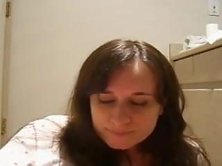 Face Of Orgasm On Bathroom Floor