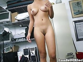 Interracial Beauty Bouncing Booty On Bbc