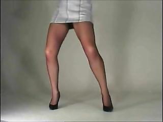 Susanna Francessca Pantyhose Upskirt, Dancing
