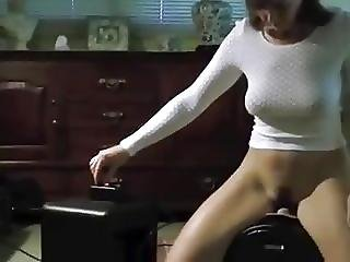Mature Milf Wife Cums On A Sybian