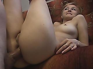 amateur, anal, bonasse, grosse bite, blonde, européenne, hardcore, à la maison, tourné à la maison, naturel, seins naturels, pov, chatte, sexy, sexe, Ados, Ados Anal