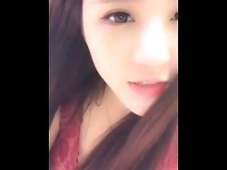 Chinese Busty Girl Masturbates