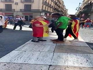 Fascist And Racist Aggression Today, Barcelona