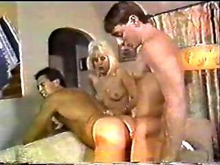 Vintage Bi Sex Threesome Mmf